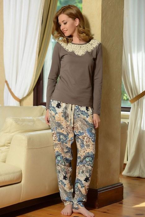 صورة بيجامات تركية شتوية , اجمل ملابس تركى