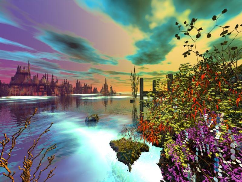 بالصور صور طبيعة خيالية , صور خيالية للطبيعة 1038 6