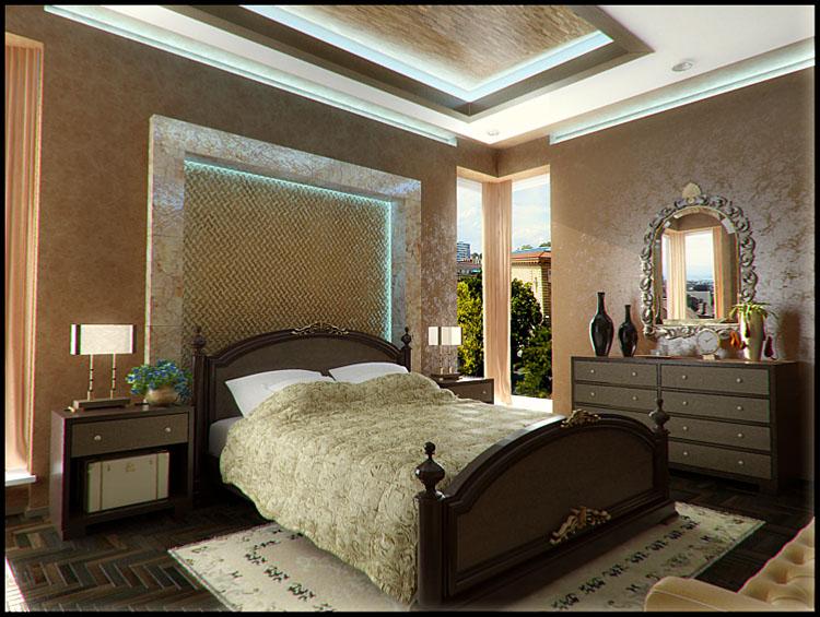 بالصور احدث ديكورات غرف النوم , اجمل غرف نوم للعرسان 2937 7