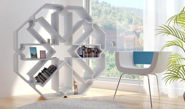 بالصور تصاميم مكاتب منزلية مودرن صور مكتبات منزلية , احدث مكاتب منزلية 3274 6
