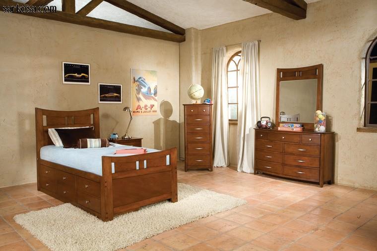 بالصور صور غرف نوم شباب . احدث تصميمات غرف الشباب . 3325 8