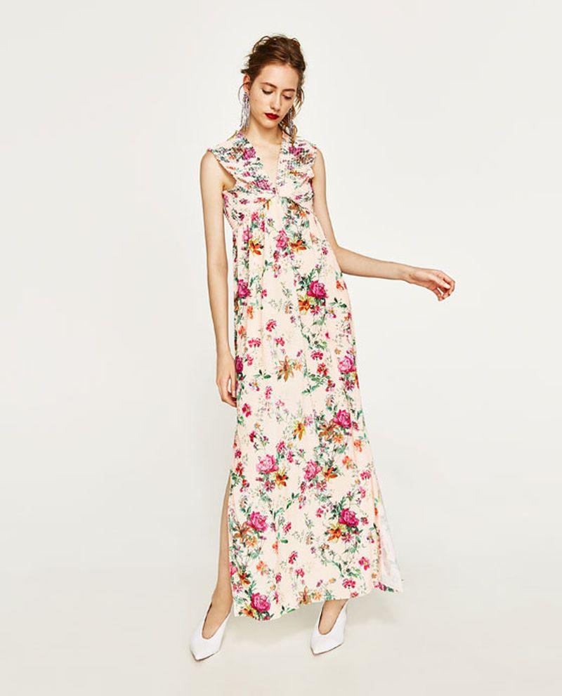 صورة فساتين زارا طويله , احدث الفساتين لاشهر الماركات