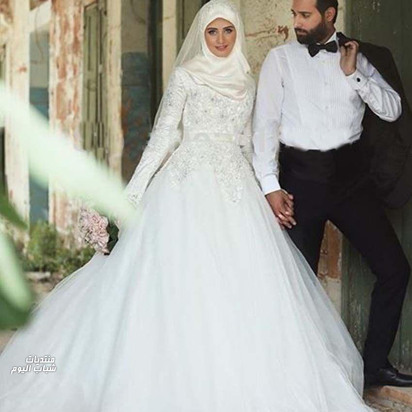 ef3e09235 صور فساتين اعراس صور فساتين افراح , فستان زفافك 2019 - صبايا كيوت