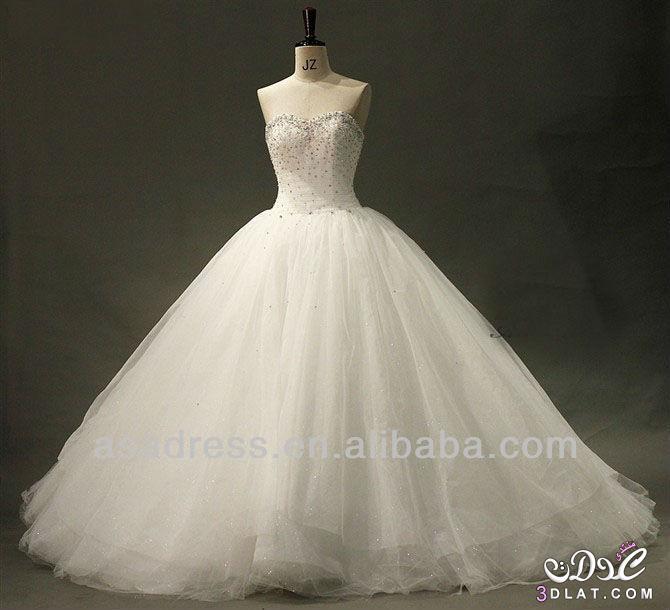بالصور صور فساتين زفاف جميلة , بالصور اجمل فساتين الزفاف 5533 10