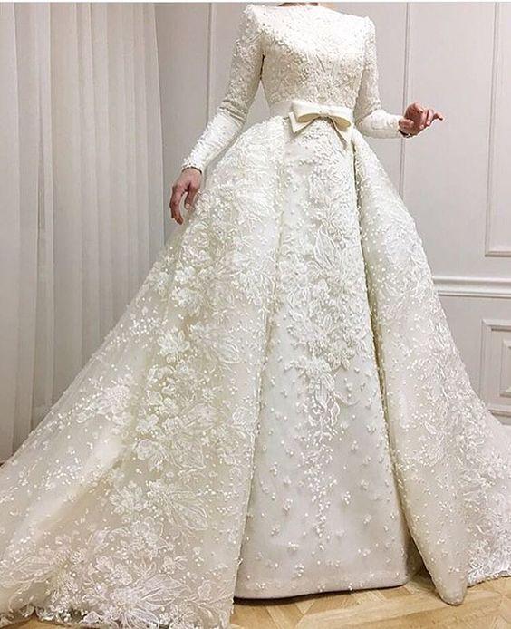 بالصور صور فساتين زفاف جميلة , بالصور اجمل فساتين الزفاف 5533 3