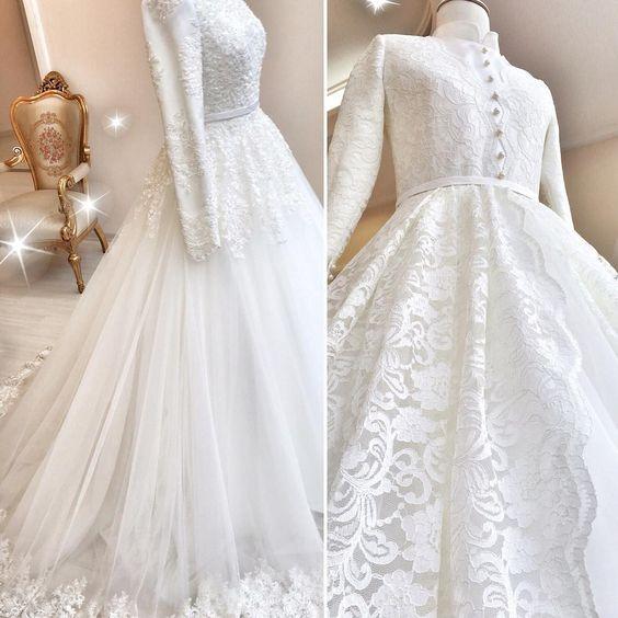 بالصور صور فساتين زفاف جميلة , بالصور اجمل فساتين الزفاف 5533 5