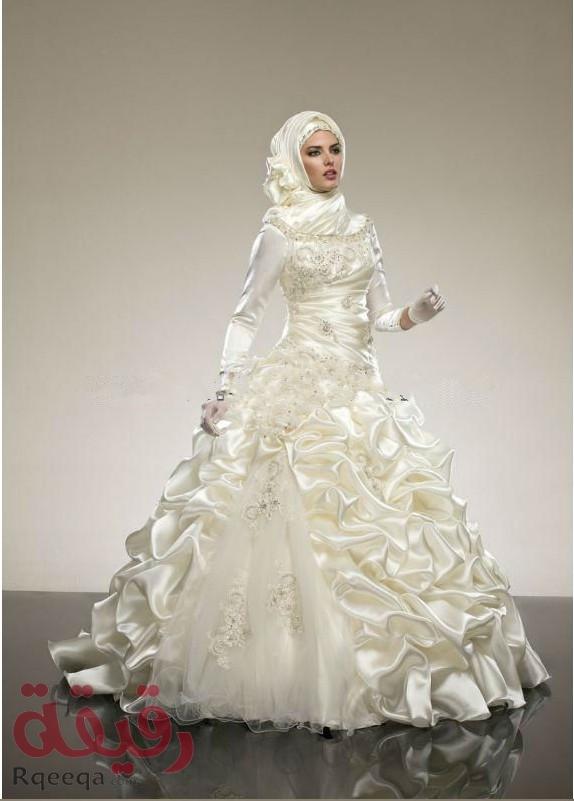 بالصور صور فساتين زفاف جميلة , بالصور اجمل فساتين الزفاف 5533 7