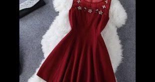 صوره صور فساتين حمراء , اجمل الفساتين الحمراء