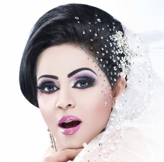 صوره صور مكياج عرايس , مكياج العروس بالصور