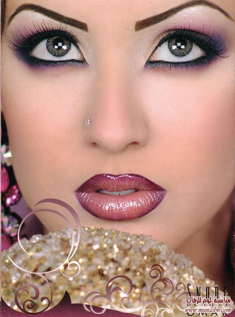 بالصور صور مكياج عرايس , مكياج العروس بالصور 5886 6