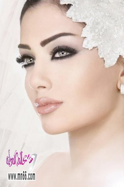 بالصور صور مكياج عرايس , مكياج العروس بالصور 5886 8