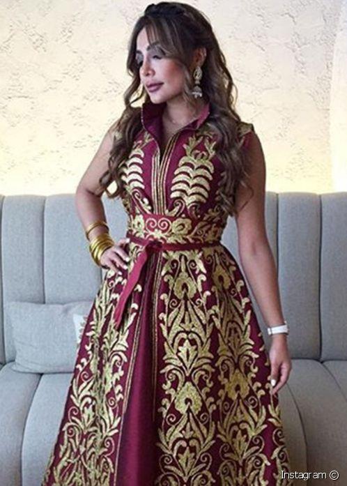 صوره ازياء امل العوضي , اجمل الفساتين لامل العوضي