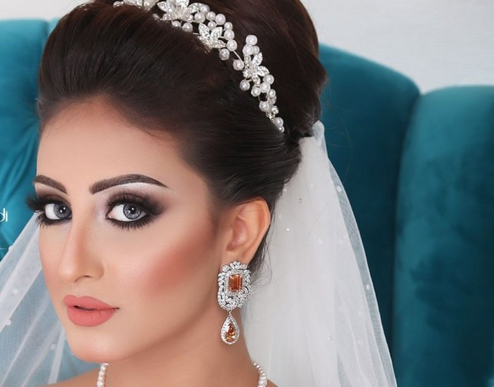 بالصور مكياج عروس خليجي , اجمل مكياج عرائس الخليج 7057 1