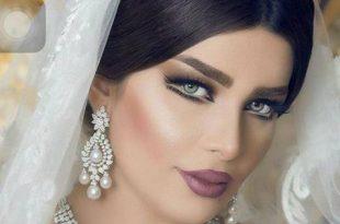 صوره مكياج عروس خليجي , اجمل مكياج عرائس الخليج
