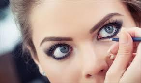 صور كيفية مكياج العيون كيفية وضع الميك اب , ميكب العيون بالفيديو