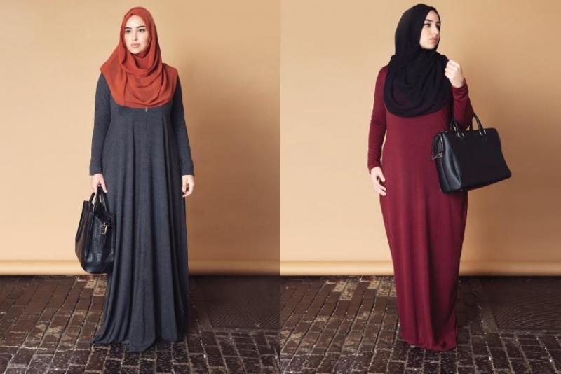 بالصور ملابس محجبات كاجوال للبدينات , موديلات جديدة للممتلئات 791 2