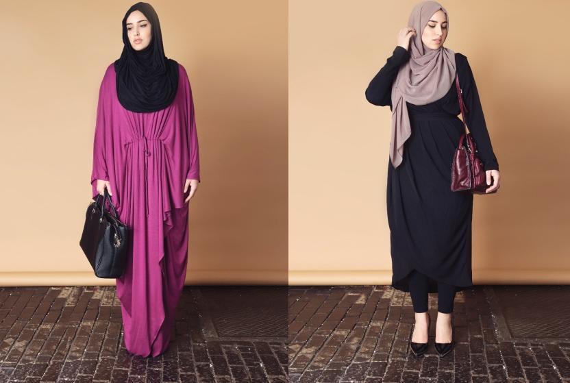 بالصور ملابس محجبات كاجوال للبدينات , موديلات جديدة للممتلئات 791 3