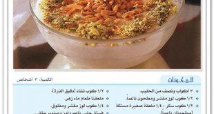 صورة وصفات حلويات بالصور , طريقة عمل الحلويات بالصور