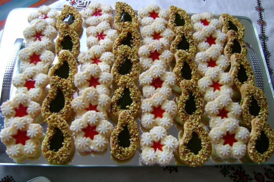 بالصور حلويات العيد مغربية , كعك العيد المغربى بالفيديو 8154 1