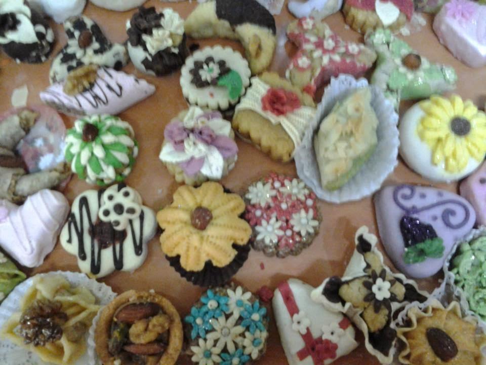 بالصور حلويات العيد مغربية , كعك العيد المغربى بالفيديو 8154