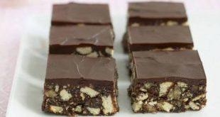 حلى البسكويت بالشوكولاته , اروع بسكويت بالشيكولاته