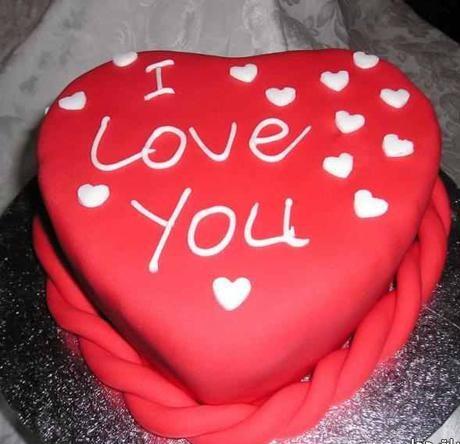 صوره كيك عيد الحب , طريقة عمل كيكة عيد الحب
