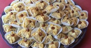 صوره حلويات مغربية سهلة بالدقيق , اسهل حلوى مغربية بالدقيق