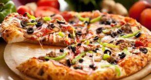 صوره طريقة عمل البيتزا منال العالم بالصور , طريقة البيتزا علي اصولها