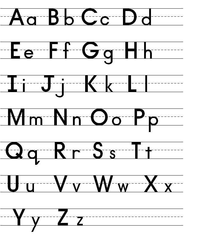 صورة صور حروف انجليزيه , الحروف الانجليزية بالصور