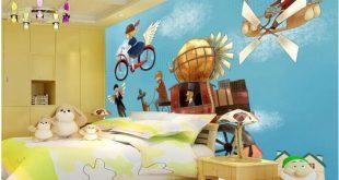 صورة ورق حائط ثري دي , ورق حائط مجسم لغرف الاطفال