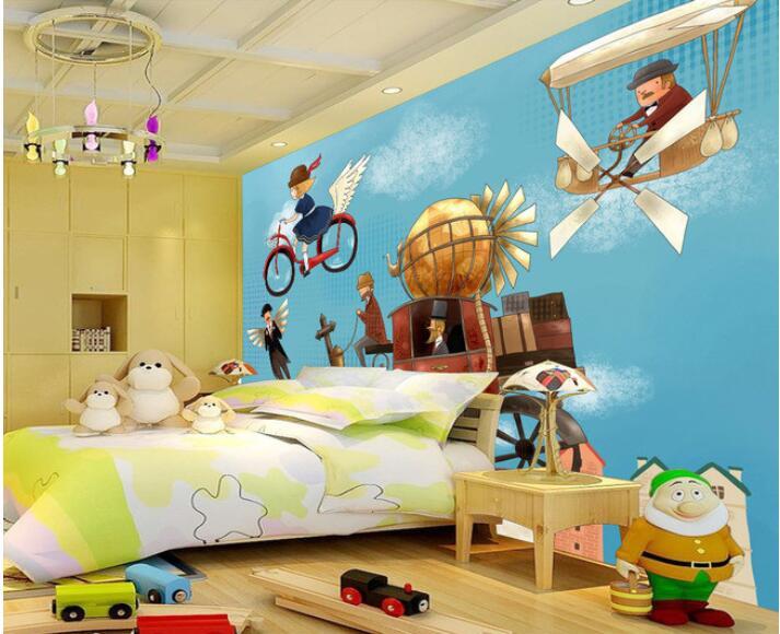 صور ورق حائط ثري دي , ورق حائط مجسم لغرف الاطفال