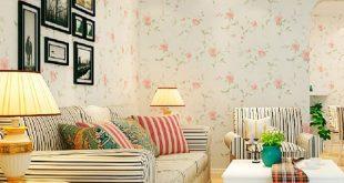 صوره ورق جدران مورد , روق جدران ورد جميل بالفيديو
