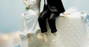 تورتة عيد زواج , كيكة عيد الزفاف بالفيديو