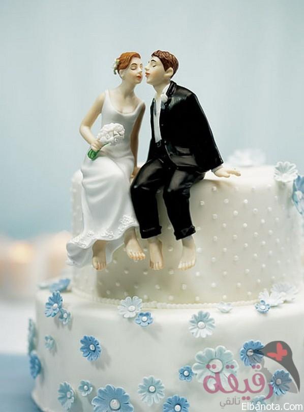 بالصور تورتة عيد زواج , كيكة عيد الزفاف بالفيديو 9182