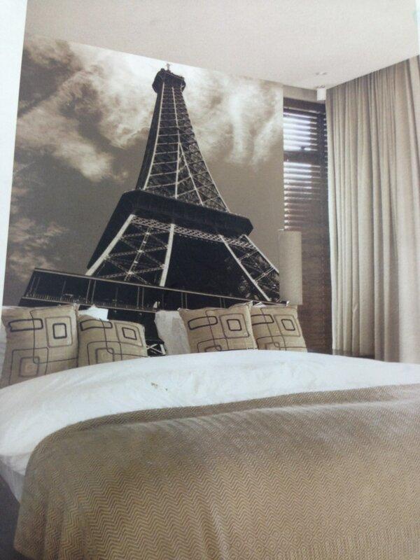 صور ورق جدران برج ايفل , برج ايفل على جدار الحائط