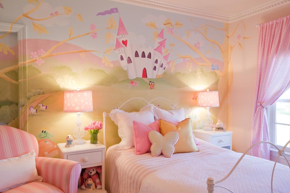 صوره ديكورات جبس غرف نوم بنات , اشيك وارق ديكورات لغرفة نوم البنات
