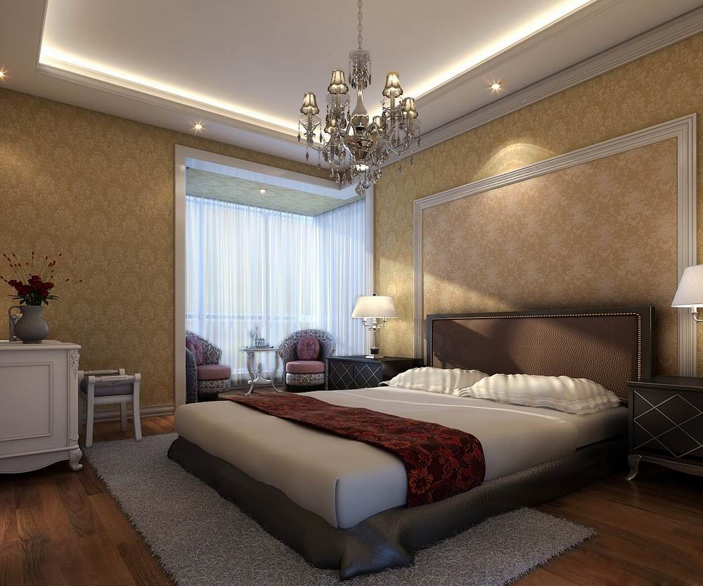 بالصور ديكور جبس غرف نوم , ديكورات اسقف وحوائط غرف النوم للعرسان 2922 3