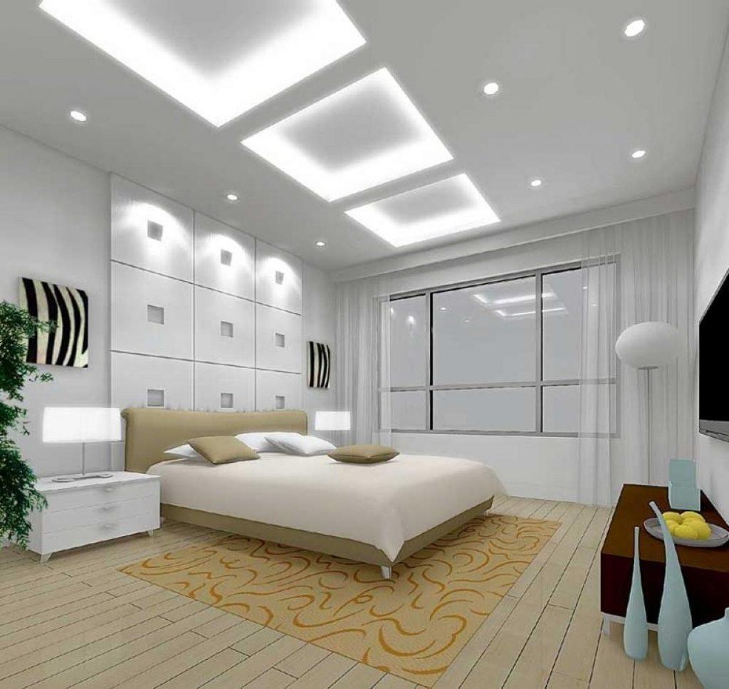 بالصور ديكور جبس غرف نوم , ديكورات اسقف وحوائط غرف النوم للعرسان 2922 7