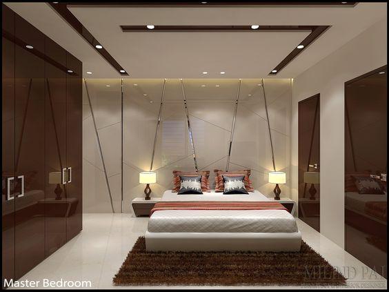 بالصور ديكور جبس غرف نوم , ديكورات اسقف وحوائط غرف النوم للعرسان 2922 9