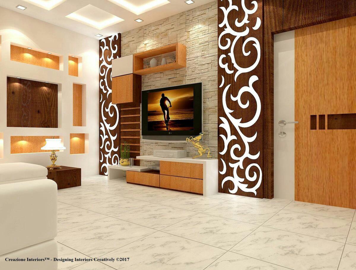 صوره ديكورات حوائط خشب , تصاميم الجدران الخشبية بالصور