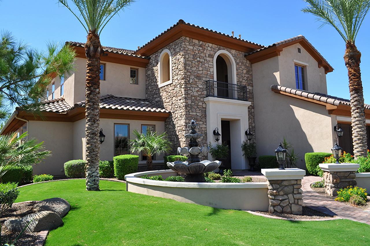 صورة ديكورات منازل خارجية , اجمل الديكورات لوجهات المنازل من الخارج