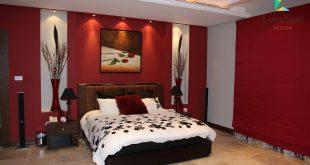صوره ديكورات غرف نوم للعرسان , اجمل تصميمات غرف النوم الرئيسية