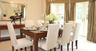 صورة ديكور طاولة الطعام , ابسط واجمل ديكورات لطاولة غرفة السفرة