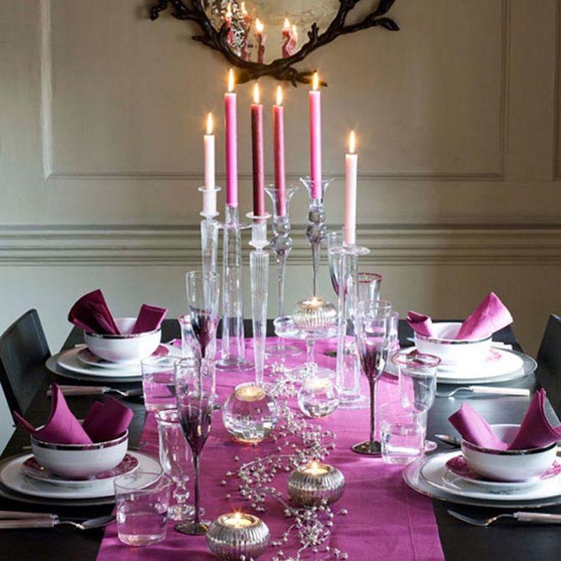 بالصور ديكور طاولة الطعام , ابسط واجمل ديكورات لطاولة غرفة السفرة 2934 2