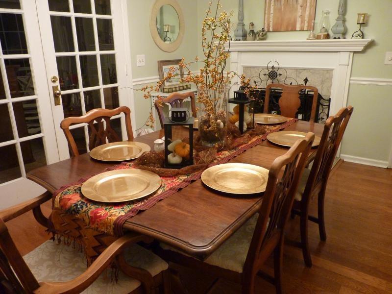 بالصور ديكور طاولة الطعام , ابسط واجمل ديكورات لطاولة غرفة السفرة 2934 5