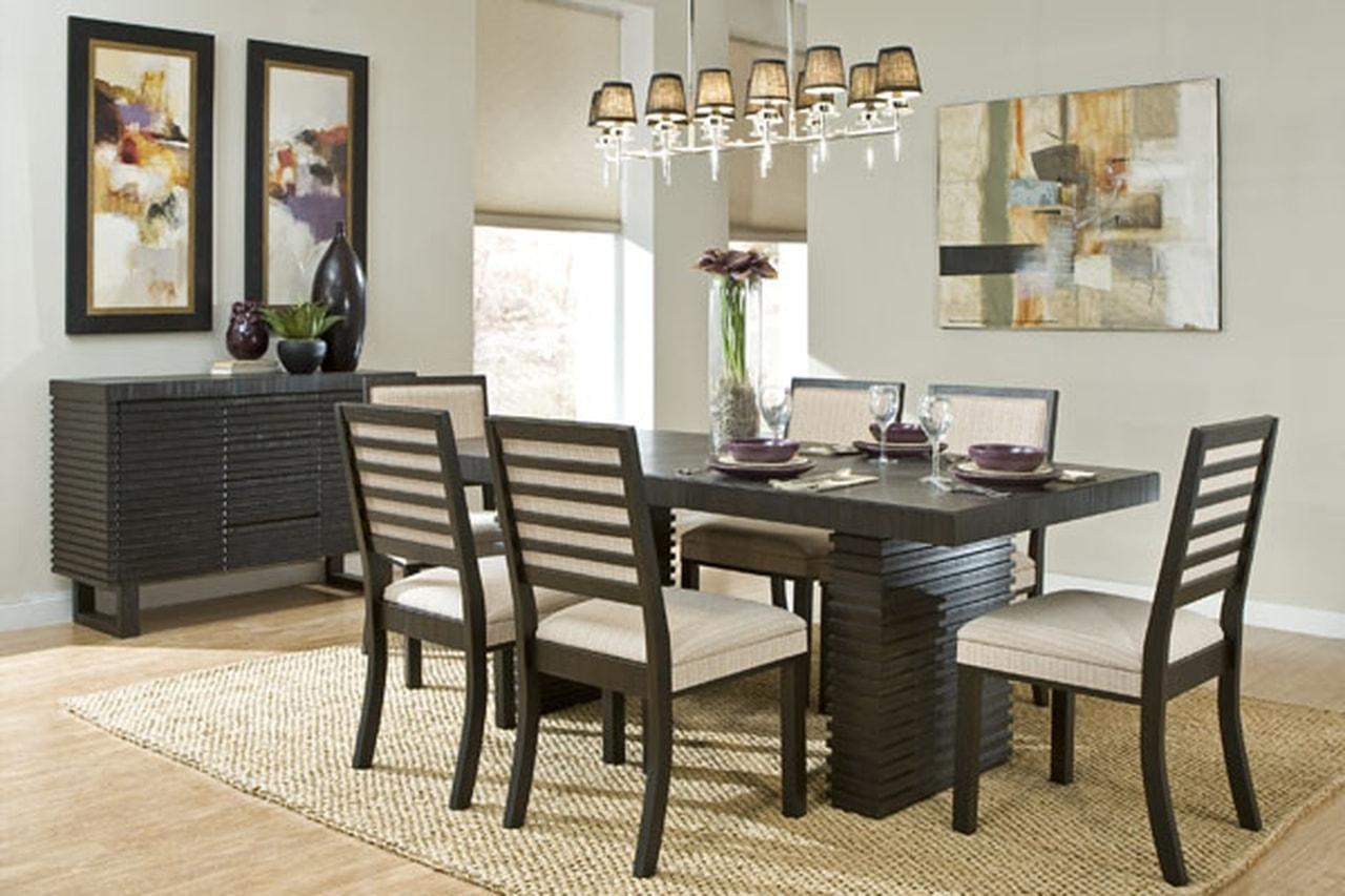 بالصور ديكور طاولة الطعام , ابسط واجمل ديكورات لطاولة غرفة السفرة 2934 7