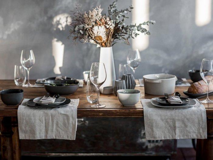 بالصور ديكور طاولة الطعام , ابسط واجمل ديكورات لطاولة غرفة السفرة 2934 8