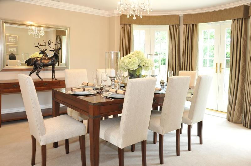 بالصور ديكور طاولة الطعام , ابسط واجمل ديكورات لطاولة غرفة السفرة 2934