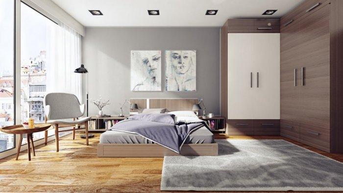 بالصور ديكورات غرف نوم مودرن , صور غرف نوم حديثة استايل عصري 2935 8