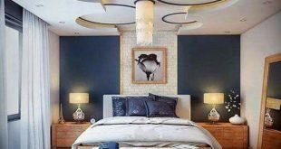 صوره ديكورات اسقف غرف نوم , احدث تصميمات اسقف غرفة النوم